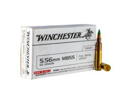 Winchester 5.56mm 62gr NATO Ammunition FMJ 20rds - Q3269