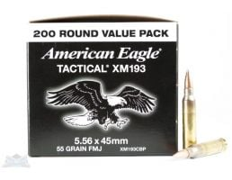 American Eagle 5.56mm 55gr FMJ Ammunition 200rds - XM193CBP