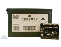 American Eagle 223 55gr FMJBT Ammunition 1000rds - XM223BL AC