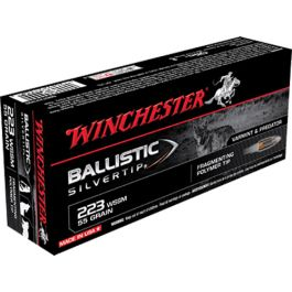 Winchester Ammunition Ballistic Silvertip 55 gr Polymer ...