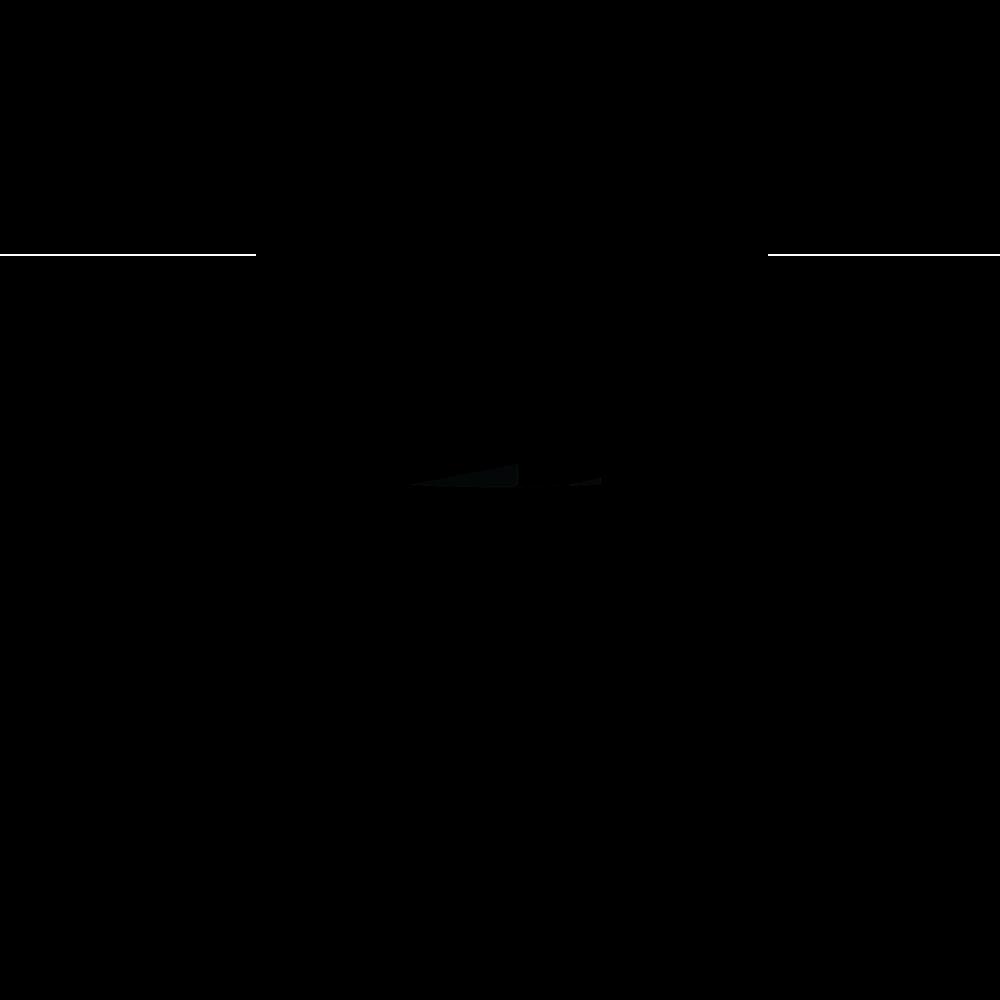 "Kwik-Site 1"" or 0.875"" Non See-Thru Grooved Receiver Mount, Black - KSNT22"