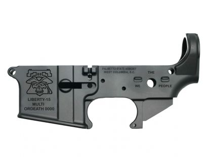 """PSA AR-15 """"LIBERTY-15"""" Stripped Lower Receiver"""