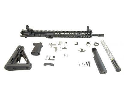 "PSA 16"" Carbine-Length M4 5.56 NATO 1/8 Phosphate 13.5"" Lightweight M-Lok MOE EPT Rifle Kit w/MBUS Sight Set"