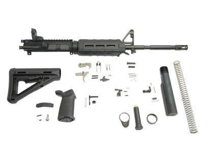 "PSA 16"" M4 5.56 NATO 1/7 Phosphate MOE EPT Rifle Kit w/ Rear MBUS - 5165502313"
