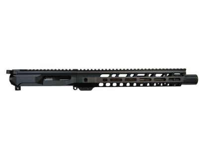 "PSA PA-9 Gen4 10.5"" 9mm 1/10 Nitride 12"" Slanted M-Lok Railed Upper With BCG & CH"