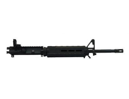 "BLEM PSA 16"" Mid-Length 5.56 NATO 1/7 Nitride MOE Upper With BCG, CH, & Rear MBUS - Black"