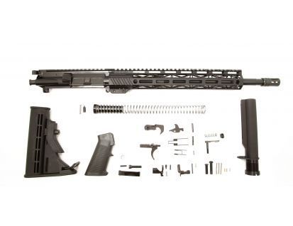 "PSA 16"" Pistol-Length 300AAC Blackout 1/8 Phosphate 13.5"" Lightweight M-Lok Classic Rifle Kit"