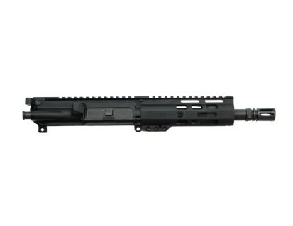 """PSA 7.5"""" 300AAC Blackout 1/8 Phosphate 6"""" Lightweight M-Lok Upper With BCG & CH"""