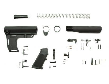 PSA Classic MFT Battlelink Pistol Lower Build Kit, Black