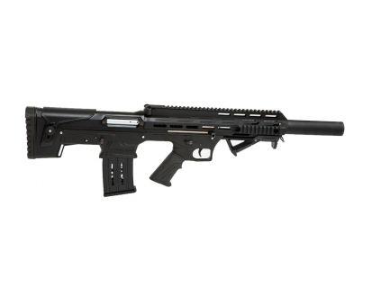 Panzer Arms BP-12 Semi-Auto 12ga Bull Pup Shotgun, Black - BP12BSSB