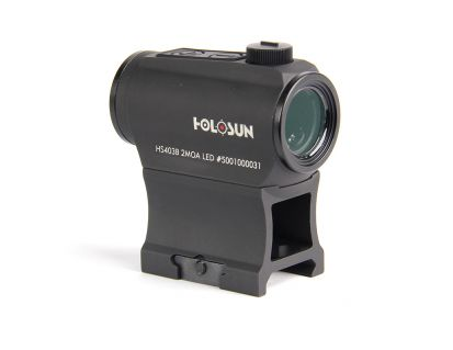 Holosun Micro 2 MOA Red Dot Sight with Shake Awake - HS403B