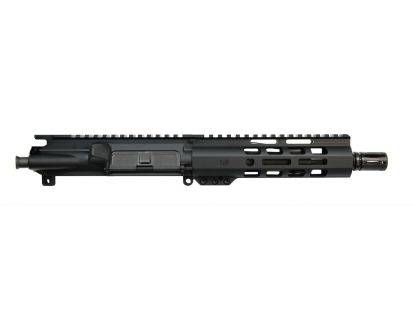 """PSA 7.5"""" Pistol-length 300AAC Blackout 1/8 Phosphate 7"""" Lightweight M-Lok Upper Without BCG or CH"""