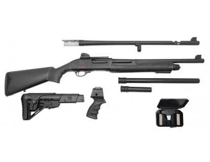 Black aces tactical pro series x pump-action shotgun with combo barrel for sale