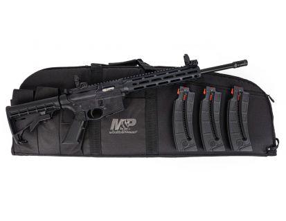 S&W M&P 15-22 Sport .22 LR Rifle With 3 Magazines & M&P Duty Carry Case, Black