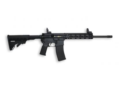 Tippmann Arms M4-22 Pro .22 LR Rifle With Fluted Barrel, Black