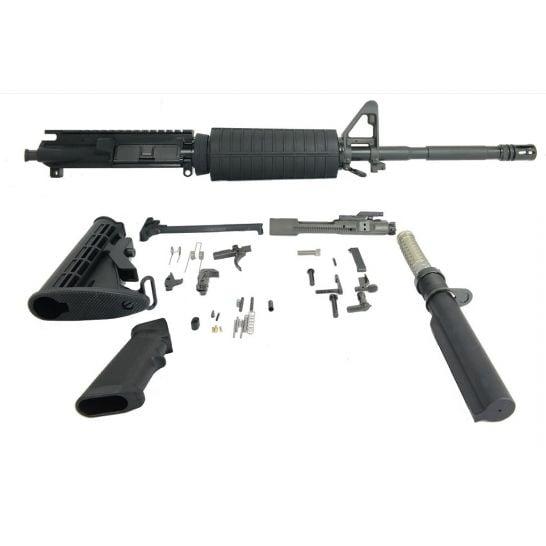 BLEM PSA 16″ M4 Carbine-Length 5.56 NATO 1/7 Phosphate Classic Rifle Kit, Black