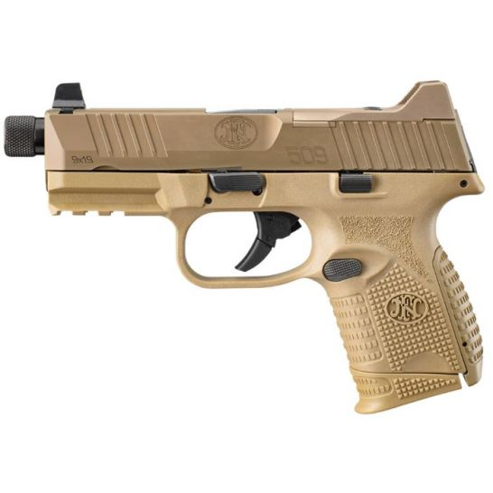 Fn 509c Tactical 9mm Pistol 24rd 4 32 Fde 66 100780 Palmetto State Armory
