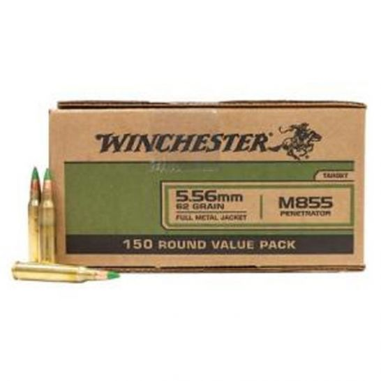 In Stock: 556 62gr FMJ 150 rounds $109