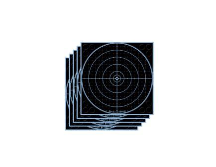 "DoAll AccuBlue Splatter Target 8"" Round 5Pk"