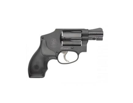 S&W 442 .38 S&W Special +P Airweight Revolver, Black – 150544