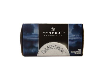 "Federal 22 Long Rifle Hyper Velocity 31 Grain Copper Plated HP Game-Shok, Ammunition,  500rd ""Brick"" (10 Boxes of 50rds) - 724"