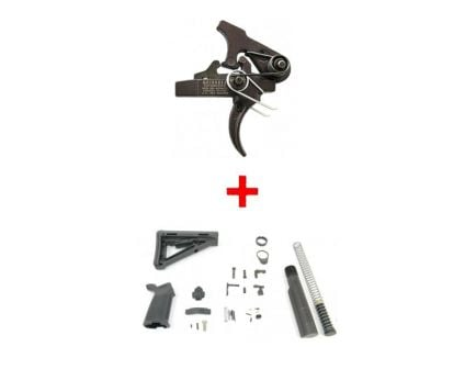 SSA-E Trigger AR-15 Lower Build Kit