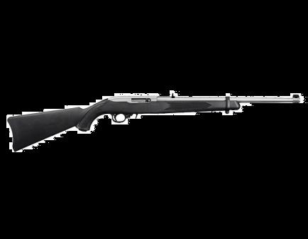 Ruger 10/22 Carbine .22 LR Rifle, Black/Stainless - 1256