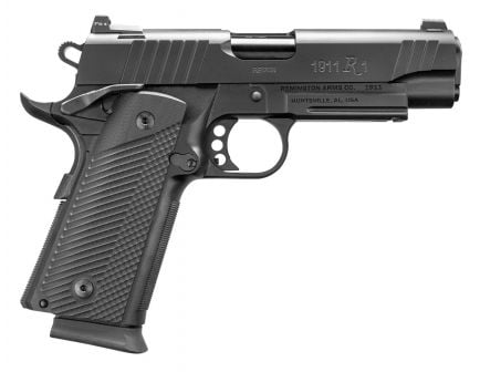 Remington 1911 R1 Recon Commander Double Stack 9mm 18+1 Round Pistol, Black PVD - 96490