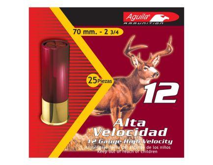 Aguila Field 12 Gauge 2-3/4 inches 4 Shot 1-1/4 oz High Velocity Lead Shotshell, Birdshot, 25/Box - 1CHB1204