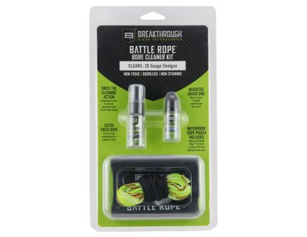 Breakthrough Clean Technologies Battle Rope Cleaning Kit - BT-BRFS-20G