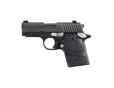 Sig Sauer P938 Nightmare 9mm Pistol, Black - 938-9-NMR-AMBI - Range Gun