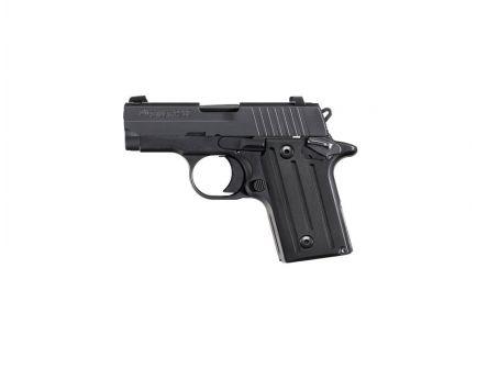 Sig Sauer Pistol P238 BLK Nitron NS Fluted Grip-.380 ACP- -238-380-BSS Range Model