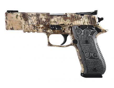 Sig Sauer P220-10 10mm SAO Match Elite Pistol, Kryptec Camo - 220R5-10-HP-SAO