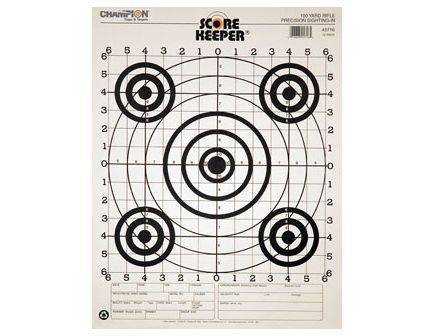 Champion 100 YD RIFLE SIGHTIN, B/B (12/PK) 45716