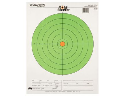 Champion 100 YD LG GREEN BULL (12/PK) 45795