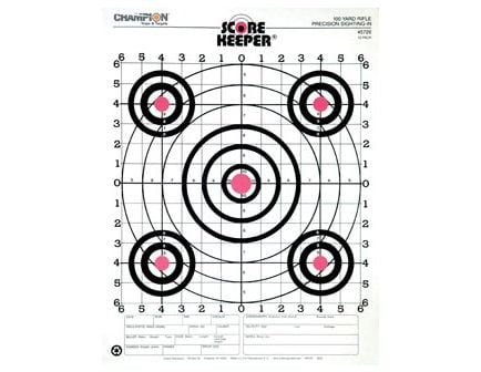 Champion 100 YD RIFLE SIGHTIN O/B (12/PK) 45726