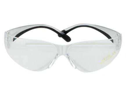 Walkers Game Ear Half-Frame Shooting Glasses, Clear Lens - GWPYWSGCLR