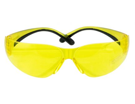 Walkers Game Ear Half-Frame Shooting Glasses, Yellow Lens - GWPYWSGYL