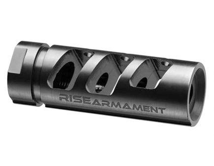 Rise Armament RA-701 1/2-28 Compensator, .223 Rem/5.56 - RA701223BLK