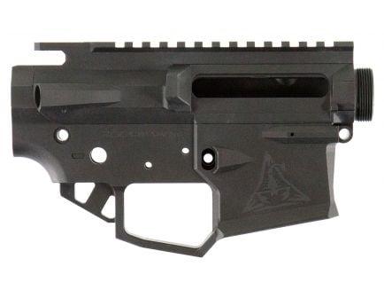 Rise Armament RPR-1 Ripper Receiver Set, Hard Coat Anodized Flat Black - RPR1BLK