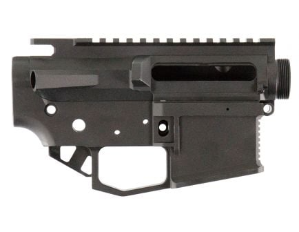 Rise Armament STR-2 Striker Receiver Set, Hard Coat Anodized Flat Black - STR2BLK