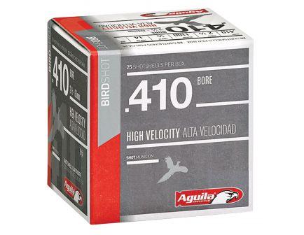 Aguila Sub-Gauge 410 Gauge 3 inches 7-1/2 Shot 11/16 oz High Velocity Lead Shotshell, Birdshot, 25/Box - 1CHB4127