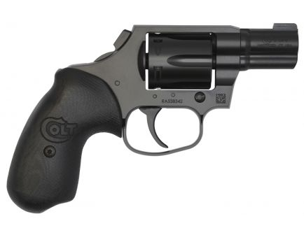 Colt Night Cobra 38 Special Double 6 Round Revolver, Ion Bond Stainless Steel - COBRA-MB2NS