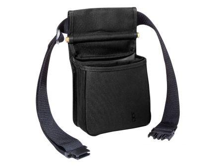 Boyt Bob Allen 419T Divided Shell Pouch w/ Belt, 2-Compartment, Black - 18000