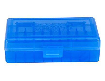Berrys Bullets 401 .380/9mm 50 Round Snap-Hinge Ammo Box, Blue - 40102