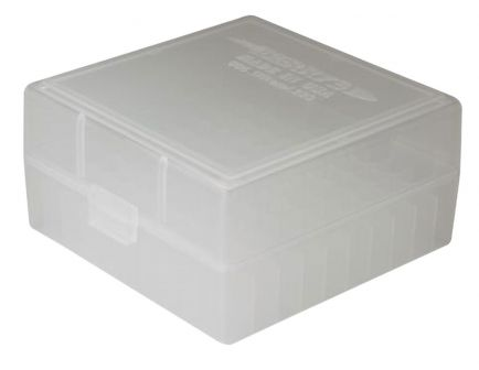 Berrys Bullets 005 .223 Rem/5.56 100 Round Snap-Hinge Ammo Box, Clear - 05030