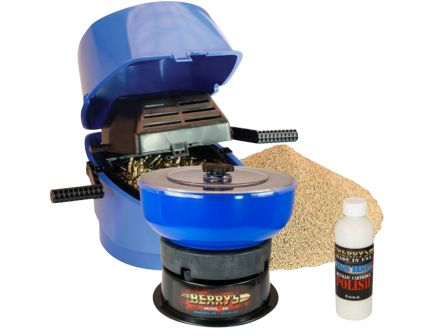 Berrys Bullets Tumbler and Rotary Sifter Media Separator Kit, Blue/Black - 95454