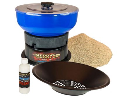 Berrys Bullets Tumbler and Pan Sifter Media Separator Kit, Blue/Black - 39185