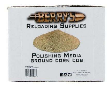 Berrys Bullets Corn Polish Media, 6 lb - 85436