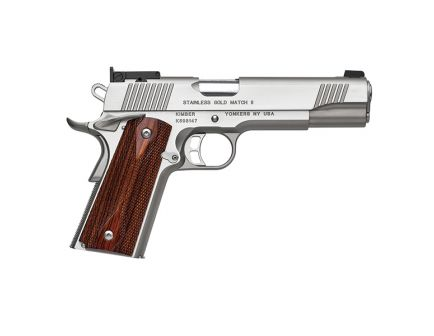 Kimber Stainless Gold Match II .45 Auto/ACP Pistol